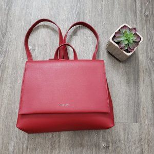 Pixie Mood Janice Backpack Messenger Vegan Leather